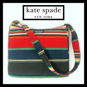 Kate Spade New York Colorful Striped Small Bag